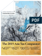 The 2015 Asia Tax Comparator - Preview