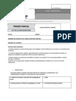 Examen 1er Parcial Hist de La Educ en Mexico Oct- Nov 14 Dr. Gmm Unidep (1)