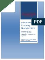 modul latihan e-pembelajaran