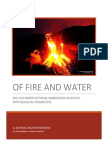 NORDVIG of Fire and Water the Old Norse Mythical Worldview in an Eco-Mythological Perspective 2013