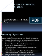 Ch 07 Qualitative Research Methods
