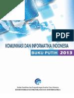 Buku Putih TIK Kominfo 2013