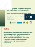 Urban Shopping Patterns Indonesia Implications