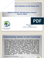 Impact of Electric Vehicles on the Grid Wml w Video