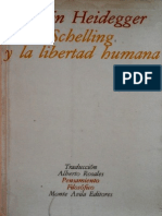 Heidegger Martin - Schelling y La Libertad Humana
