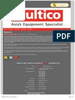 Forklift | Generators | Sennebogen - Multico Prime Power Inc