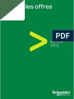 Catalogue Schneider Electric - Nouvelles Offres - 2012