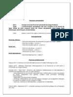 Curriculum Vitae M. Trannois 2014