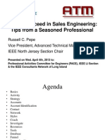 How to Ucceed in Sales Engineering