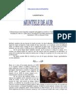 Lazar Pasca - Muntele de Aur