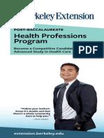 Post-Bacc Health Professions Program