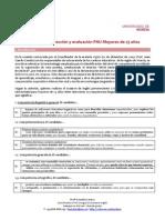 Criterios de Correccion y Evaluacion Mayores 25 a Partir de 2015