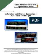 Alpha 7000 Series Back-To-Back Sign Manual (Pn 1024600101)[1]