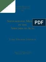 Luke Timothy Johnson Septuagintal Midrash
