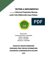Tugas Sistem Testing