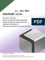 ImagePass A1/B1 RemoteUI Guide