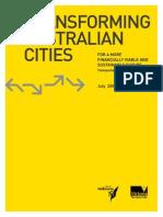 Transforming Australian Cities Report July 09