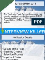 TNPSC CDPO Recruitment 2014 - Interviewkiller