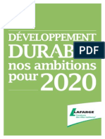 05072014 Lafarge Sustainability Ambitions 2020 Fr