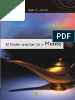 El poder creador de la mente-Ernest S. Holmes.pdf