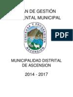 Plan de Gestión Ambiental Del Municipio de Ascención
