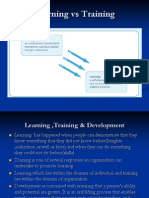 Learning and Development First Module