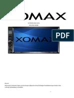XOMAX XM 2VRSU724BT Bedienungsanleitung Deutsch