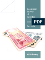 Economic Survey Pakistan 2007 2008