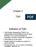 Chapter 2 TQM