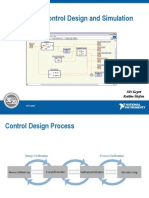 LabView Control Design and Simulation