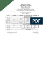 classroom programme