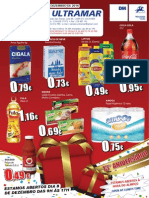 Folheto de Natal Cash Ultramar
