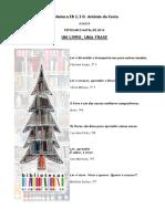 Frases Marcadores - Natal 2014