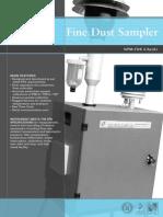 Fine Dust Sampler