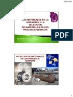 Los Materiales en La Ingeniería y La Selección