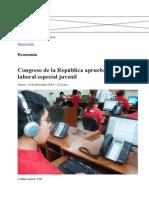 Ley Para Los Jovenes - Perú