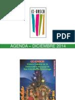 - Agenda – Diciembre 2014