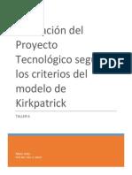 evaluacin del proyecto tecnolgico segn los criterios del modelo de kirkpatrick