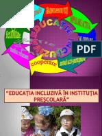 EDUCATIA  INCLUZIVĂ