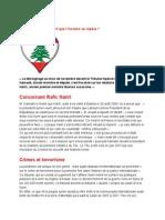 Liban/Syrie