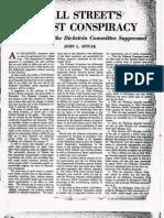 Wall Street Facist Conspiracy 1935