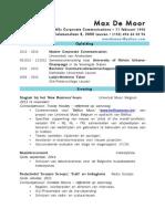 CV MaxDeMoor 2014