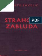 Ante Pavelic - Strahote Zabluda