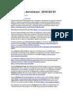 Relixions Antiguidade Recursos Web Bibliografia