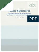 Conseil Municipal d'Ennordres