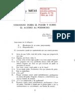 Schmitt, Carl - Coloquio Sobre El Poder y Sobre El Acceso Al Poderoso
