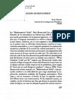 (I) ORAYEN La logica y el dilema de Benacerraf.pdf