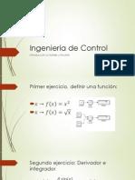 Ingeniería de Control, Ejercicios Matlab 2