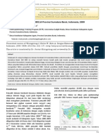 Demam Berdarah Dengue (DBD) Di Provinsi Sumatera Barat, Indonesia, 2009