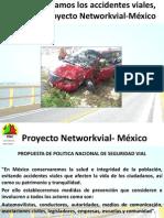 Reduzcamos los accidentes viales, Proyecto Networkvial-México
